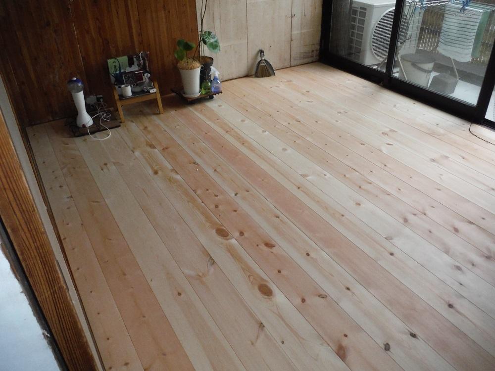 和室床改修工事